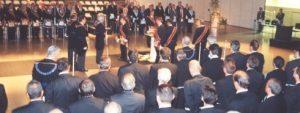Consagració de la GLA, el 9 de Setembre de 2000
